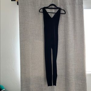 American apparel velvet jumpsuit